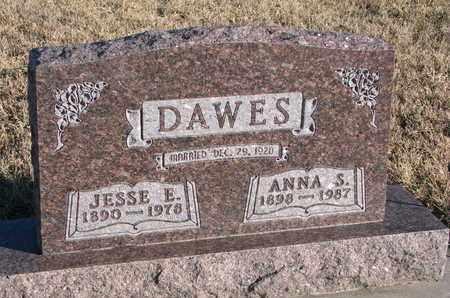 DAWES, ANNA S. - Bon Homme County, South Dakota | ANNA S. DAWES - South Dakota Gravestone Photos