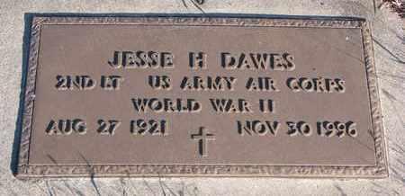 DAWES, JESSE H. (MILITARY) - Bon Homme County, South Dakota   JESSE H. (MILITARY) DAWES - South Dakota Gravestone Photos