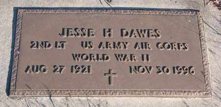 DAWES, JESSE H. (MILITARY) - Bon Homme County, South Dakota | JESSE H. (MILITARY) DAWES - South Dakota Gravestone Photos