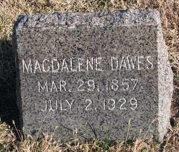 DAWES, MAGDALENE - Bon Homme County, South Dakota | MAGDALENE DAWES - South Dakota Gravestone Photos