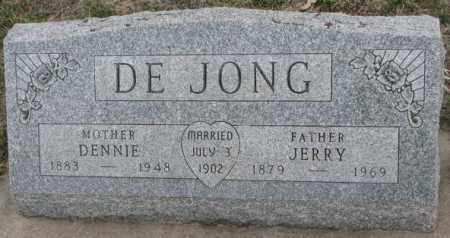 DE JONG, DENNIE - Bon Homme County, South Dakota | DENNIE DE JONG - South Dakota Gravestone Photos