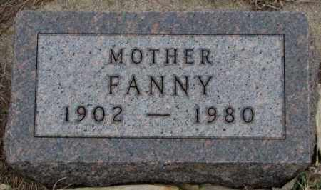 DE JONG, FANNY - Bon Homme County, South Dakota | FANNY DE JONG - South Dakota Gravestone Photos