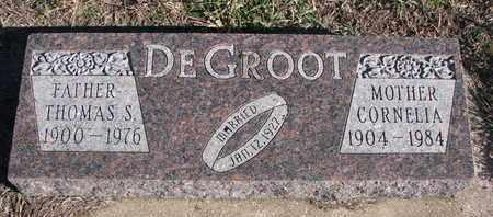 DEGROOT, CORNELIA - Bon Homme County, South Dakota   CORNELIA DEGROOT - South Dakota Gravestone Photos