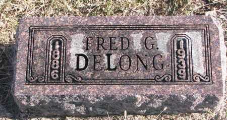 DELONG, FRED G. - Bon Homme County, South Dakota | FRED G. DELONG - South Dakota Gravestone Photos