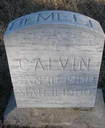 DEMELT, CALVIN - Bon Homme County, South Dakota   CALVIN DEMELT - South Dakota Gravestone Photos