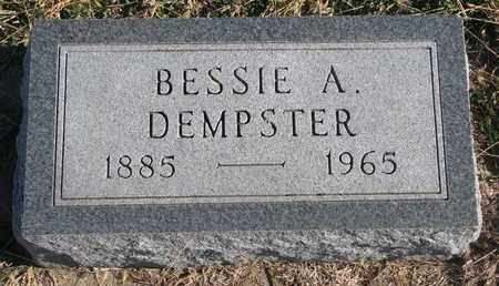 DEMPSTER, BESSIE A. - Bon Homme County, South Dakota | BESSIE A. DEMPSTER - South Dakota Gravestone Photos