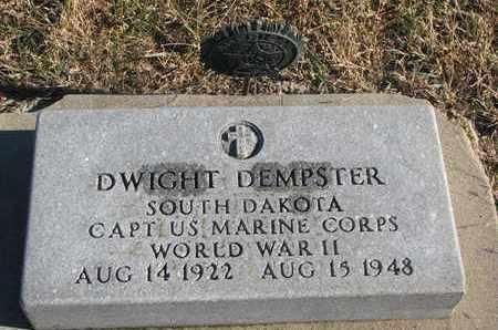 DEMPSTER, DWIGHT - Bon Homme County, South Dakota | DWIGHT DEMPSTER - South Dakota Gravestone Photos