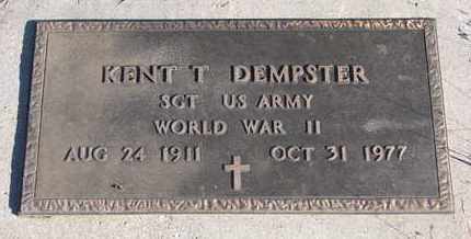 DEMPSTER, KENT T. (WW II) - Bon Homme County, South Dakota | KENT T. (WW II) DEMPSTER - South Dakota Gravestone Photos
