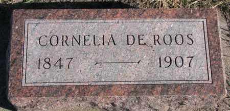 DEROOS, CORNELIA - Bon Homme County, South Dakota | CORNELIA DEROOS - South Dakota Gravestone Photos