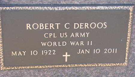 DEROOS, ROBERT C. (WW II) - Bon Homme County, South Dakota   ROBERT C. (WW II) DEROOS - South Dakota Gravestone Photos
