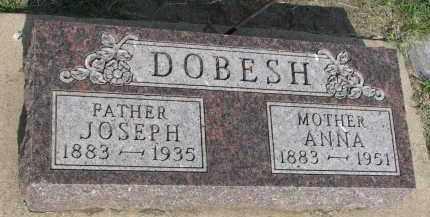 DOBESH, ANNA - Bon Homme County, South Dakota | ANNA DOBESH - South Dakota Gravestone Photos