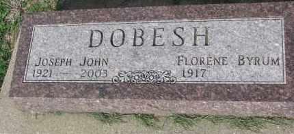 BYRUM DOBESH, FLORENE - Bon Homme County, South Dakota | FLORENE BYRUM DOBESH - South Dakota Gravestone Photos