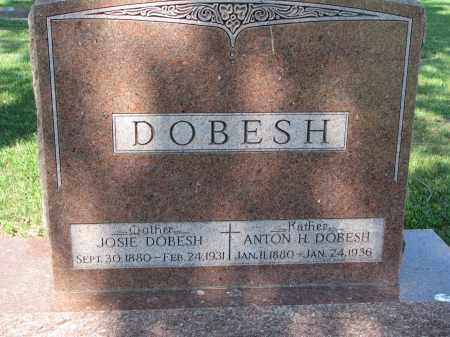 DOBESH, JOSIE - Bon Homme County, South Dakota | JOSIE DOBESH - South Dakota Gravestone Photos