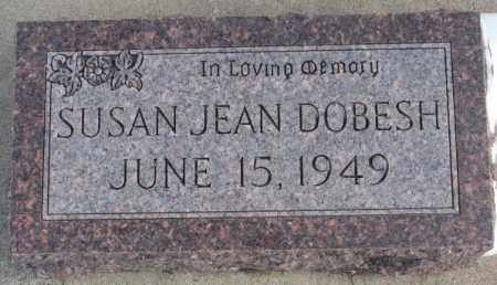 DOBESH, SUSAN JEAN - Bon Homme County, South Dakota   SUSAN JEAN DOBESH - South Dakota Gravestone Photos