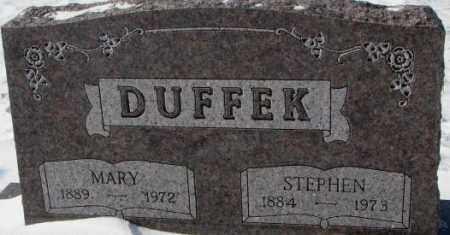 DUFFEK, STEPHEN - Bon Homme County, South Dakota | STEPHEN DUFFEK - South Dakota Gravestone Photos