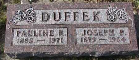 DUFFEK, JOSEPH P. - Bon Homme County, South Dakota | JOSEPH P. DUFFEK - South Dakota Gravestone Photos