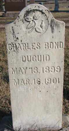 DUGUID, CHARLES BOND - Bon Homme County, South Dakota | CHARLES BOND DUGUID - South Dakota Gravestone Photos