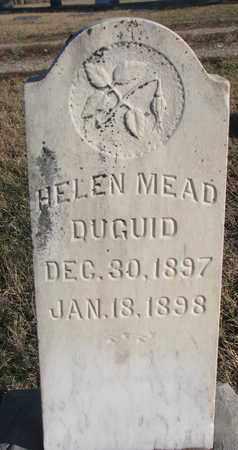 DUGUID, HELEN - Bon Homme County, South Dakota | HELEN DUGUID - South Dakota Gravestone Photos