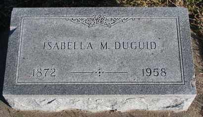 DUGUID, ISABELLA M. - Bon Homme County, South Dakota | ISABELLA M. DUGUID - South Dakota Gravestone Photos