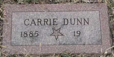 DUNN, CARRIE - Bon Homme County, South Dakota | CARRIE DUNN - South Dakota Gravestone Photos