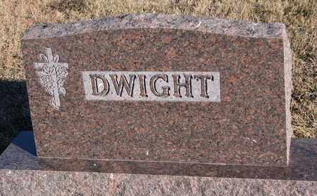 DWIGHT, FAMILY STONE - Bon Homme County, South Dakota | FAMILY STONE DWIGHT - South Dakota Gravestone Photos