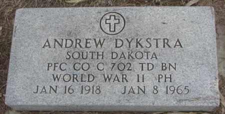 DYKSTRA, ANDREW (WW II) - Bon Homme County, South Dakota | ANDREW (WW II) DYKSTRA - South Dakota Gravestone Photos