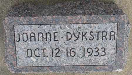 DYKSTRA, JOANNE - Bon Homme County, South Dakota | JOANNE DYKSTRA - South Dakota Gravestone Photos