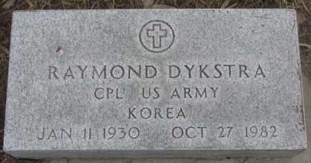 DYKSTRA, RAYMOND (MILITARY) - Bon Homme County, South Dakota | RAYMOND (MILITARY) DYKSTRA - South Dakota Gravestone Photos
