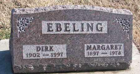 EBELING, MARGARET - Bon Homme County, South Dakota | MARGARET EBELING - South Dakota Gravestone Photos