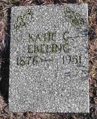 EBELING, KATIE G. - Bon Homme County, South Dakota   KATIE G. EBELING - South Dakota Gravestone Photos