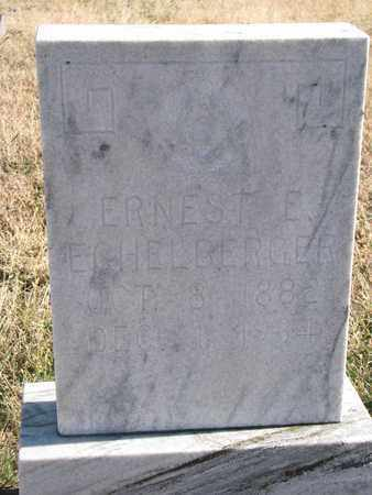 ECHELBERGER, ERNEST E. - Bon Homme County, South Dakota | ERNEST E. ECHELBERGER - South Dakota Gravestone Photos