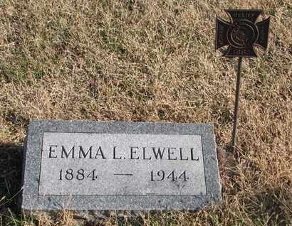ELWELL, EMMA L. - Bon Homme County, South Dakota | EMMA L. ELWELL - South Dakota Gravestone Photos