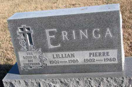 ERINGA, LILLIAN - Bon Homme County, South Dakota | LILLIAN ERINGA - South Dakota Gravestone Photos