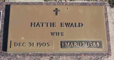 EWALD, HATTIE - Bon Homme County, South Dakota | HATTIE EWALD - South Dakota Gravestone Photos