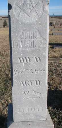 FALCONER, JOHN (CLOSEUP) - Bon Homme County, South Dakota | JOHN (CLOSEUP) FALCONER - South Dakota Gravestone Photos