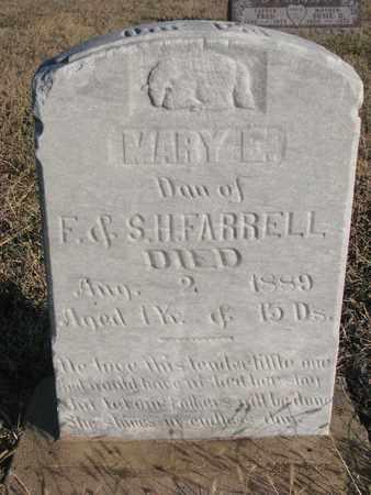 FARRELL, MARY E. - Bon Homme County, South Dakota | MARY E. FARRELL - South Dakota Gravestone Photos