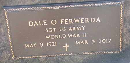 FERWERDA, DALE O. (WWII) - Bon Homme County, South Dakota | DALE O. (WWII) FERWERDA - South Dakota Gravestone Photos