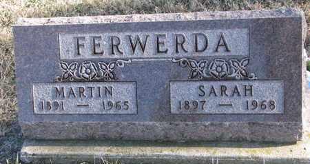 FERWERDA, SARAH - Bon Homme County, South Dakota | SARAH FERWERDA - South Dakota Gravestone Photos