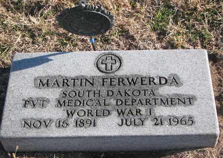 FERWERDA, MARTIN (WW I) - Bon Homme County, South Dakota | MARTIN (WW I) FERWERDA - South Dakota Gravestone Photos