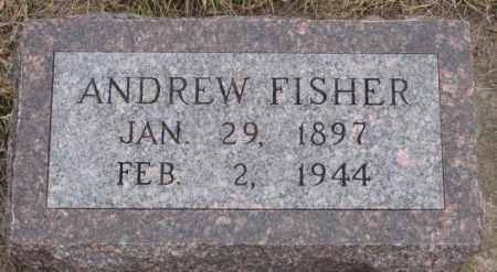 FISHER, ANDREW - Bon Homme County, South Dakota | ANDREW FISHER - South Dakota Gravestone Photos