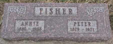 FISHER, PETER - Bon Homme County, South Dakota | PETER FISHER - South Dakota Gravestone Photos