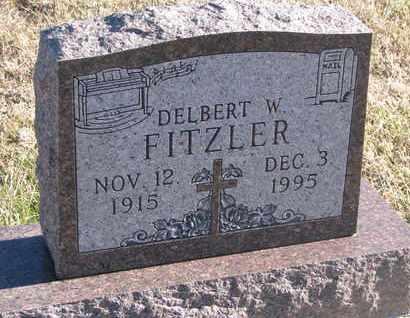 FITZLER, DELBERT W. - Bon Homme County, South Dakota | DELBERT W. FITZLER - South Dakota Gravestone Photos