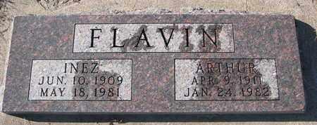 FLAVIN, INEZ - Bon Homme County, South Dakota | INEZ FLAVIN - South Dakota Gravestone Photos