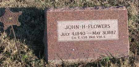 FLOWERS, JOHN H. - Bon Homme County, South Dakota | JOHN H. FLOWERS - South Dakota Gravestone Photos
