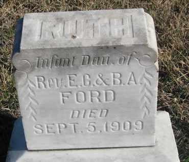 FORD, RUTH - Bon Homme County, South Dakota | RUTH FORD - South Dakota Gravestone Photos