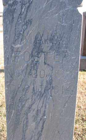 FOSTER, MAIA (CLOSEUP) - Bon Homme County, South Dakota | MAIA (CLOSEUP) FOSTER - South Dakota Gravestone Photos