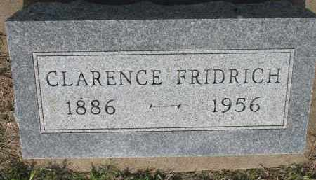 FRIDRICH, CLARENCE - Bon Homme County, South Dakota | CLARENCE FRIDRICH - South Dakota Gravestone Photos