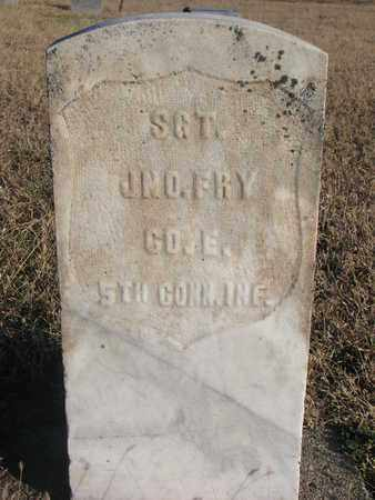FRY, JNO. - Bon Homme County, South Dakota | JNO. FRY - South Dakota Gravestone Photos