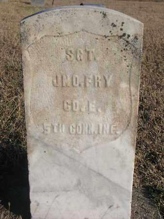 FRY, JNO. - Bon Homme County, South Dakota   JNO. FRY - South Dakota Gravestone Photos