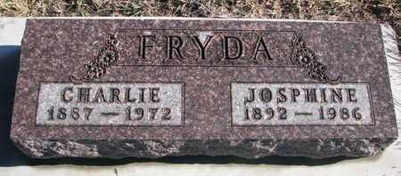 FRYDA, JOSPHINE - Bon Homme County, South Dakota | JOSPHINE FRYDA - South Dakota Gravestone Photos